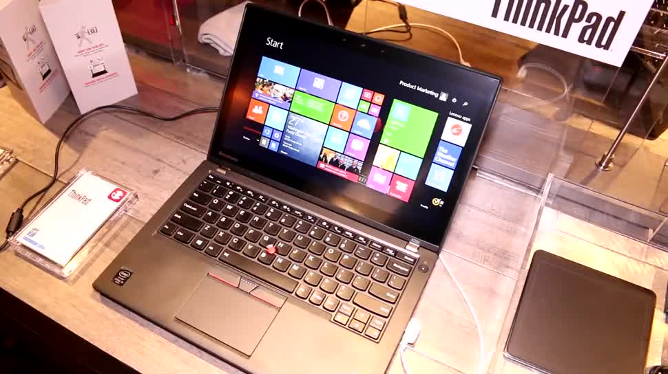 Notebook, Laptop, Hands-On, Akku, Ces, Hands on, Thinkpad, Ces 2015, ThinkPad X250, Lenovo ThinkPad X250