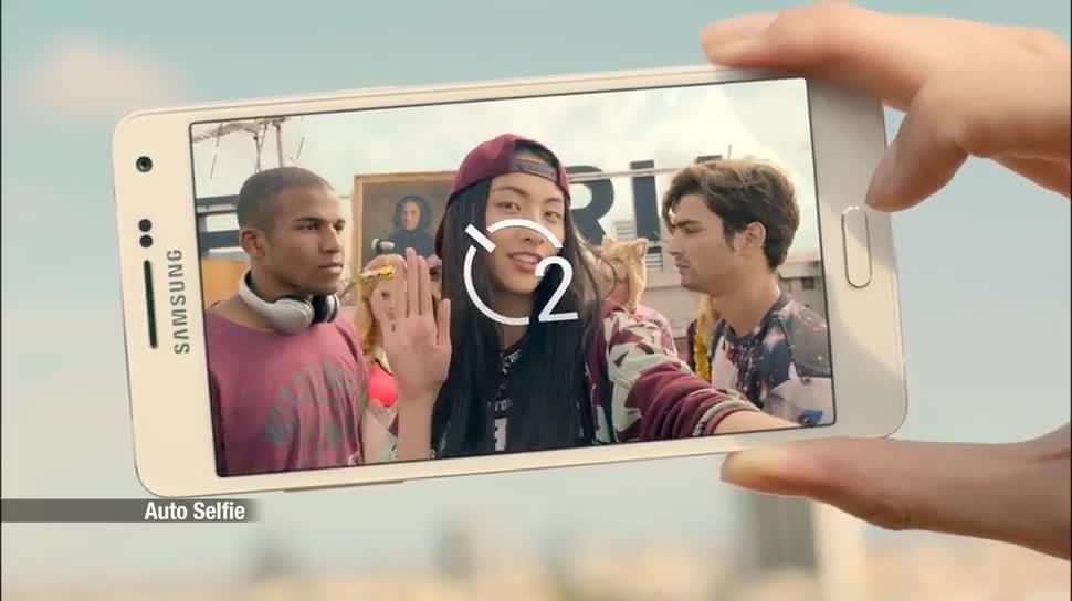 Smartphone, Android, Samsung, Samsung Galaxy, Werbespot, Galaxy, Ces, Samsung Mobile, Ces 2015, Selfie, Selfies, Selfie-Phone, Samsung Galaxy A5, Selfie Smartphone, Galaxy A5, Selfie-Smartphone
