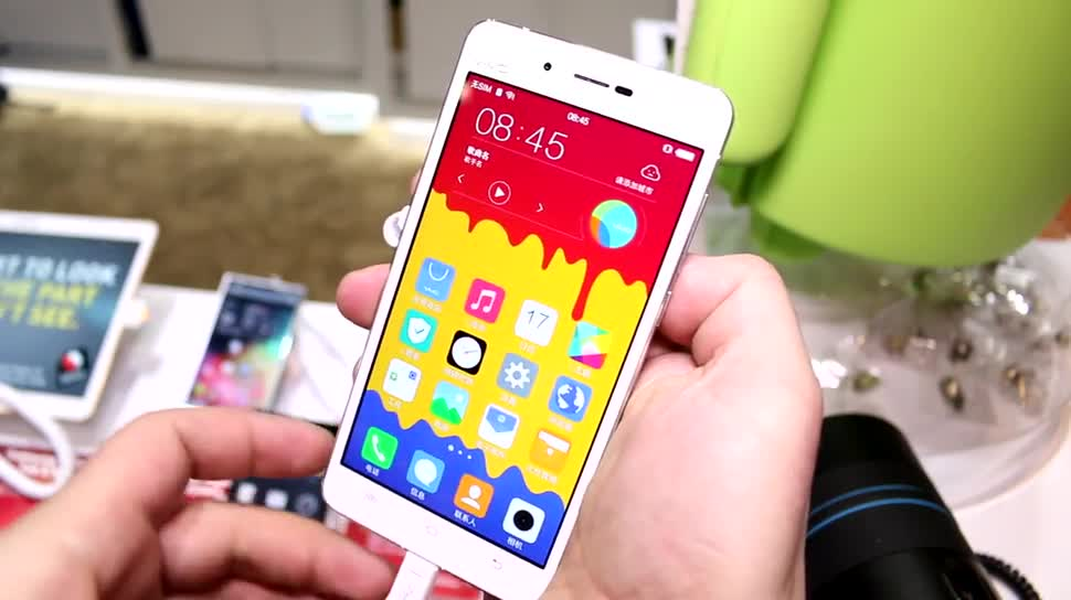 Smartphone, Android, Hands-On, Qualcomm, Ces, Ces 2015, Vivo, Vivo X5 Max