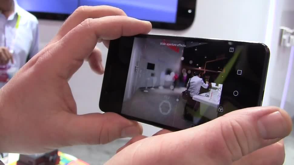 Smartphone, Huawei, Kamera, Ces 2015, Honor 6 Plus, Lichtfeld-Effekt