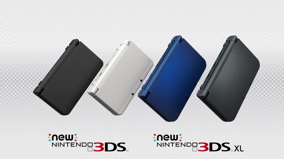 Nintendo, Handheld, Nintendo 3ds, Nintendo Handheld, New Nintendo 3DS, New Nintendo 3DS XL
