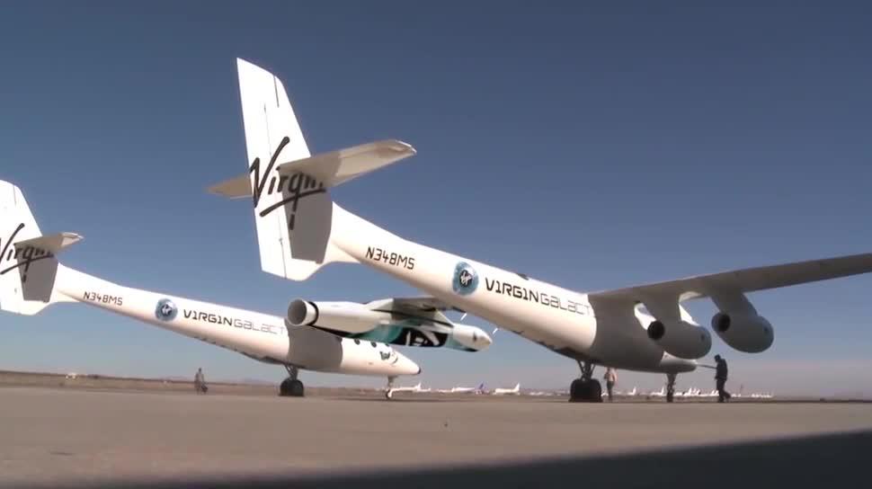 Raumfahrt, Rakete, Satelliten, Virgin Galactic, LauncherOne