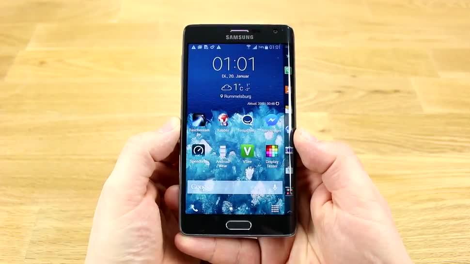 Smartphone, Phablet, Stylus, gebogenes Display, Samsung Galaxy Note, Samsung Galaxy Note 4, Wacom, Samsung Galaxy Note Edge