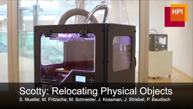 3D-Drucker, Hpi, Scotty, Teleporter, Beamen