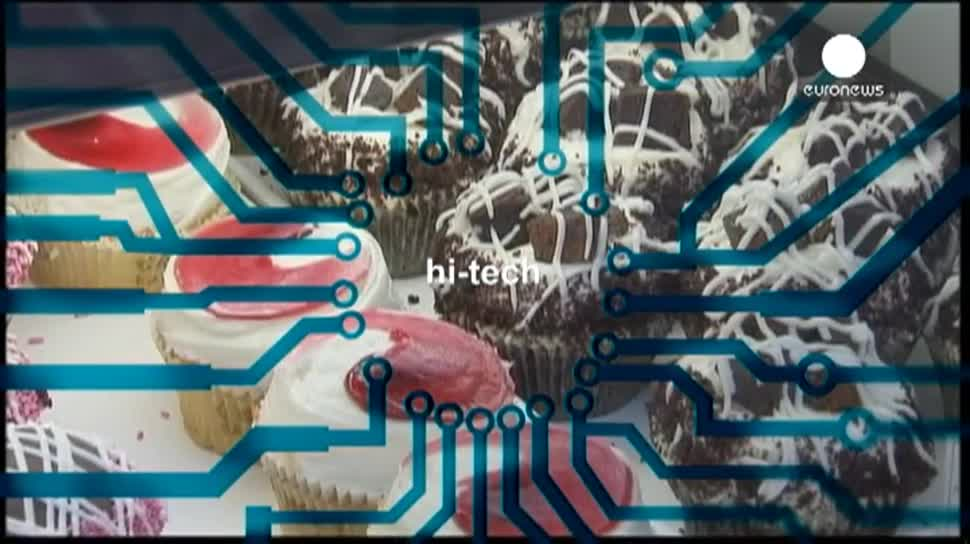 Touchscreen, 3D-Drucker, 3D-Druck, Lebensmittel, Foodini, Törtchen, Pizzateig, Emilio Sepuldeva, Natural Machines, Luis Estrada Canal