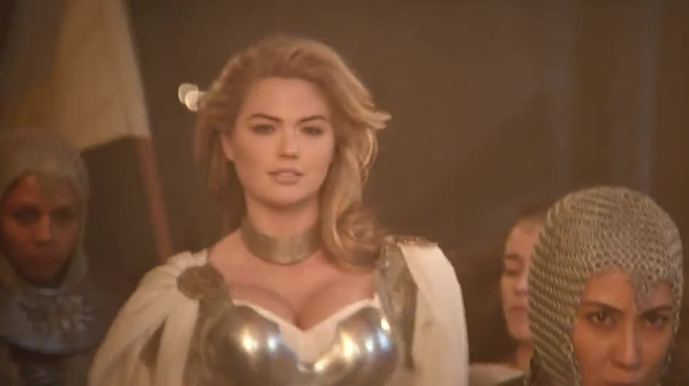 Werbespot, Free-to-Play, Mmo, Super Bowl, Mobile Games, Super Bowl 2015, Game of War, Kate Upton, Fire Age