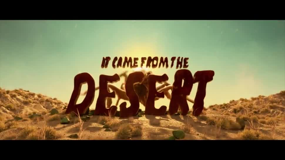 Trailer, Teaser, Cinemaware, It Came from the Desert, Roger! Pictures