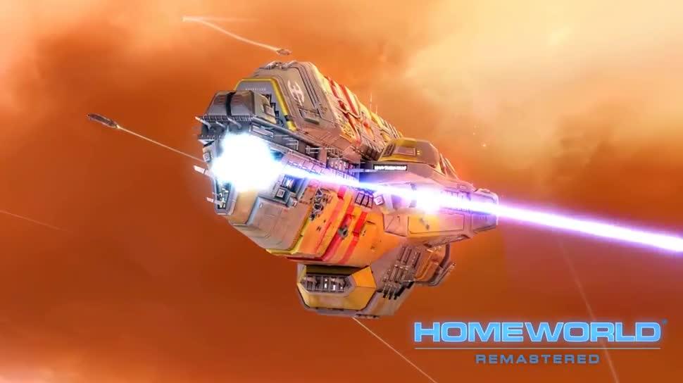 Trailer, Strategiespiel, Gearbox, Gearbox Software, Homeworld Remastered Collection, Homeworld
