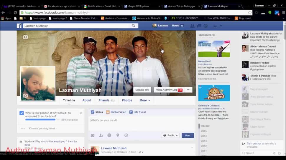 Facebook, Sicherheitslücke, Fotos, Löschung, Accounts, Token
