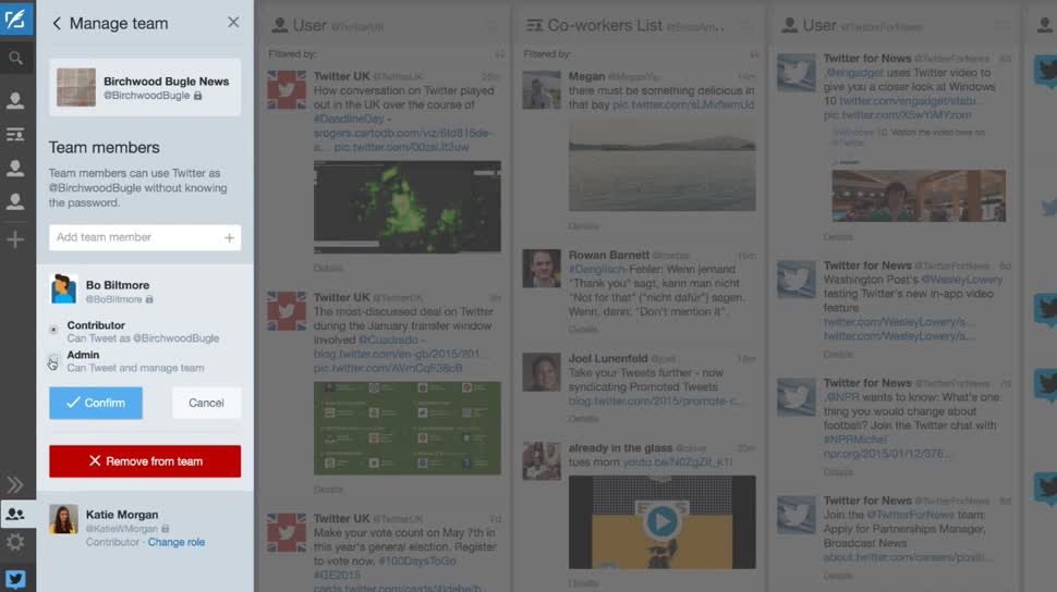 Twitter, Microblogging, Tweets, Microblogging Dienst, Twitter Microblogging, Tweetdeck, TweetDeck Teams