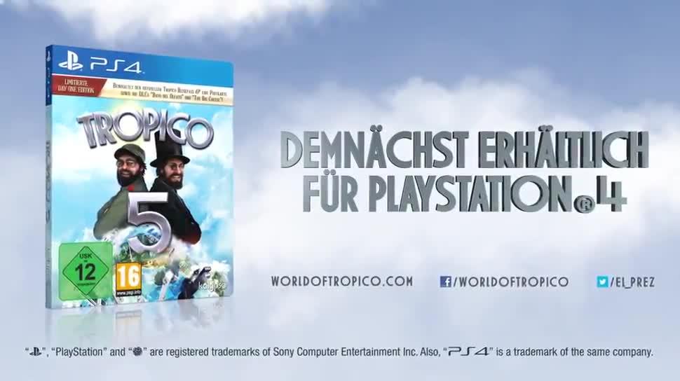 Trailer, Strategiespiel, Kalypso Media, Tropico, Tropico 5