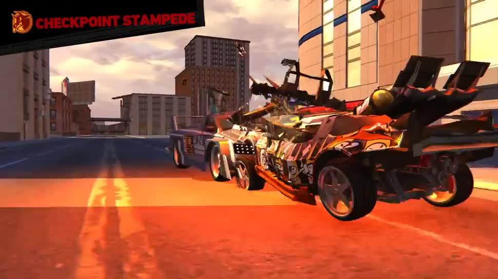 Trailer, Beta, Rennspiel, Carmageddon: Reincarnation, Carmageddon, Stainless Games