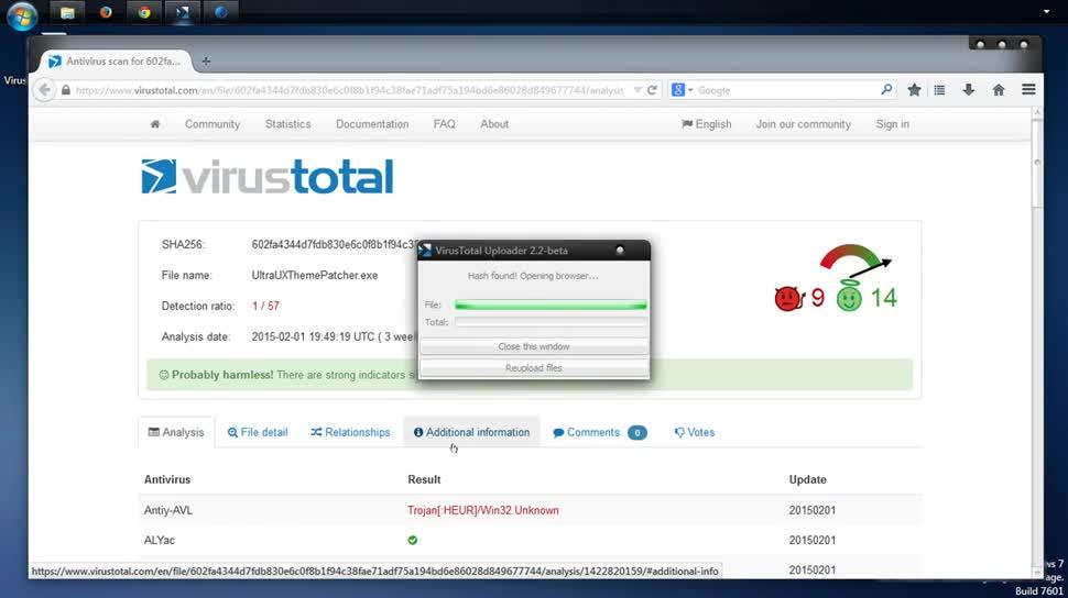 Malware, Antivirus, Virus, Virenscanner, SemperVideo, VirusTotal
