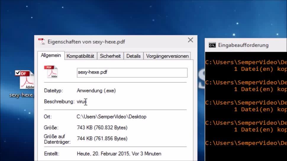 SemperVideo, Dateien, Explorer, Windows Explorer, Datei Explorer, Dateitypen