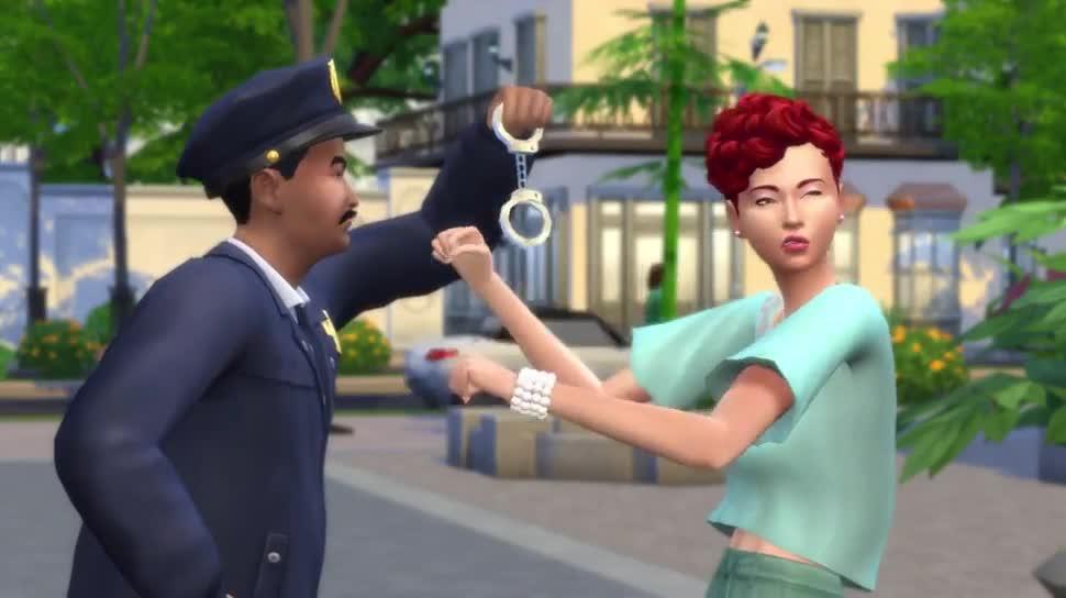 Trailer, Electronic Arts, Ea, Die Sims 4, Die Sims, An die Arbeit