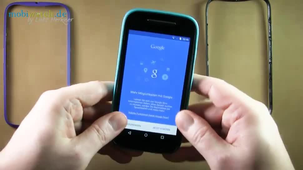 Smartphone, Android, Lte, Hands-On, Motorola, Lutz Herkner, Moto E 4G