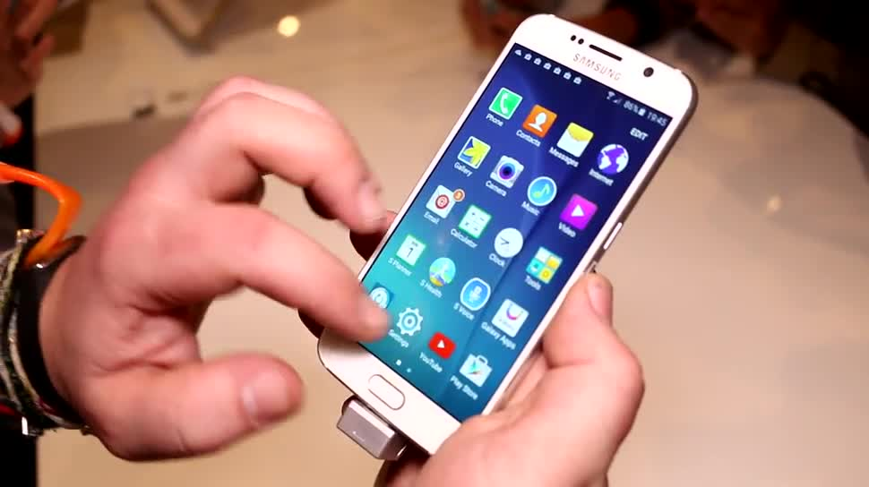 Smartphone, Android, Samsung, Galaxy, Hands-On, Mwc, Android 5.0, MWC 2015, Galaxy S6, Samsung Galaxy S6