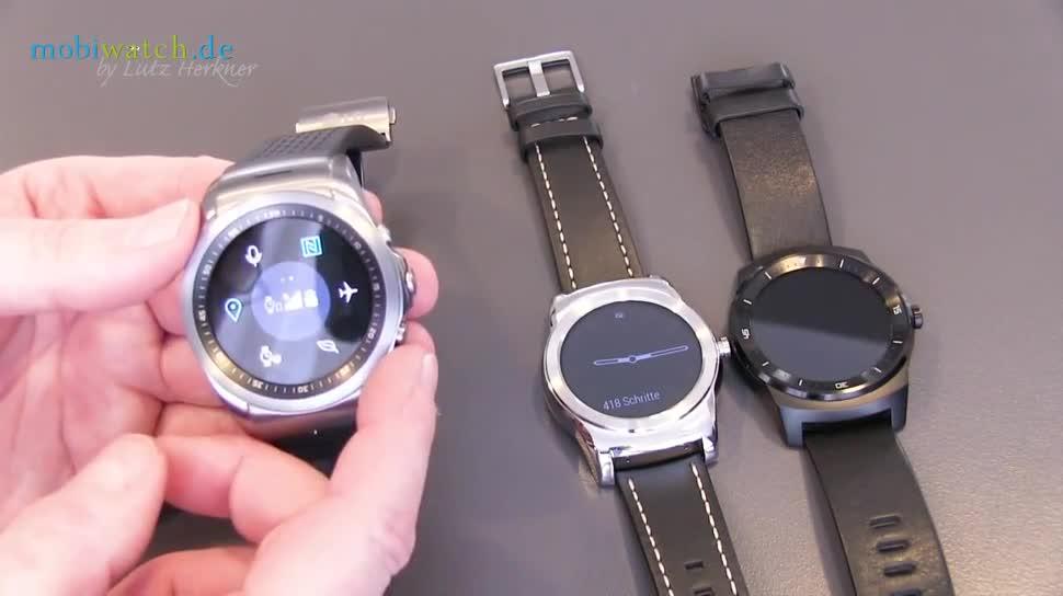 Mobilfunk, LG, smartwatch, Uhr, Mobile World Congress, Lutz Herkner, MWC 2015, Watch Urbane, Watch Urbane LTE