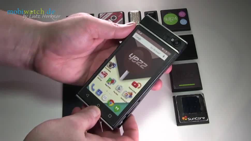 Smartphone, Google, Android, Mwc, Lutz Herkner, MWC 2015, Modulares Handy, Project Ara, Yezz, Dummy