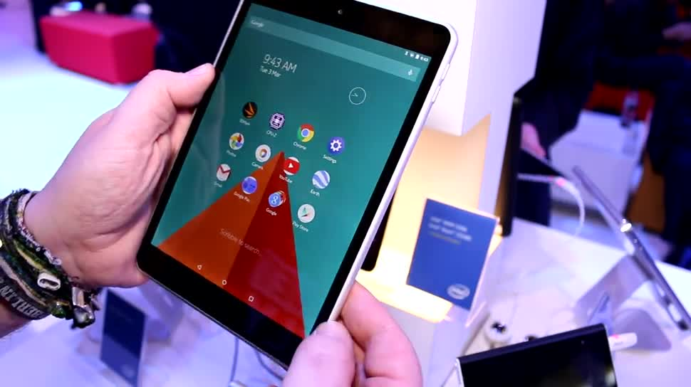 Android, Tablet, Nokia, Hands-On, Mwc, Lollipop, Foxconn, Android 5.0, MWC 2015, Android L, Android 5, Nokia N1, Z Launcher, Nokia Z Launcher