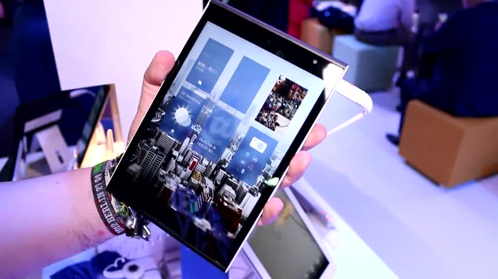 Tablet, Intel, Mobile World Congress, MWC 2015, Jolla, Sailfish OS