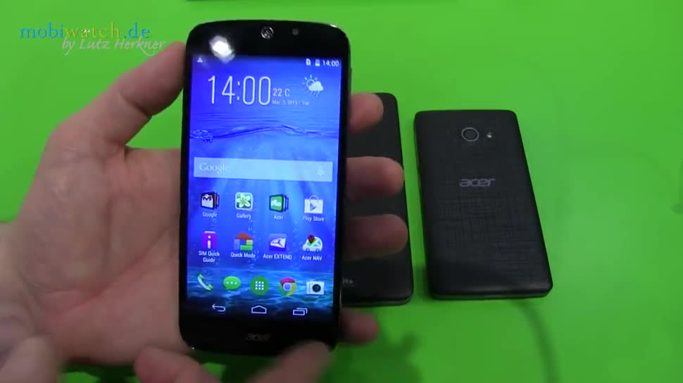 Smartphone, Android, Windows Phone, Hands-On, Windows Phone 8.1, Mwc, Lutz Herkner, Android 4.4, MWC 2015, Liquid Jade Z Plus, Acer Liquid Jade Z Plus, Z 520 Plus, Acer Z 520 Plus, M220 Plus, Acer M220 Plus