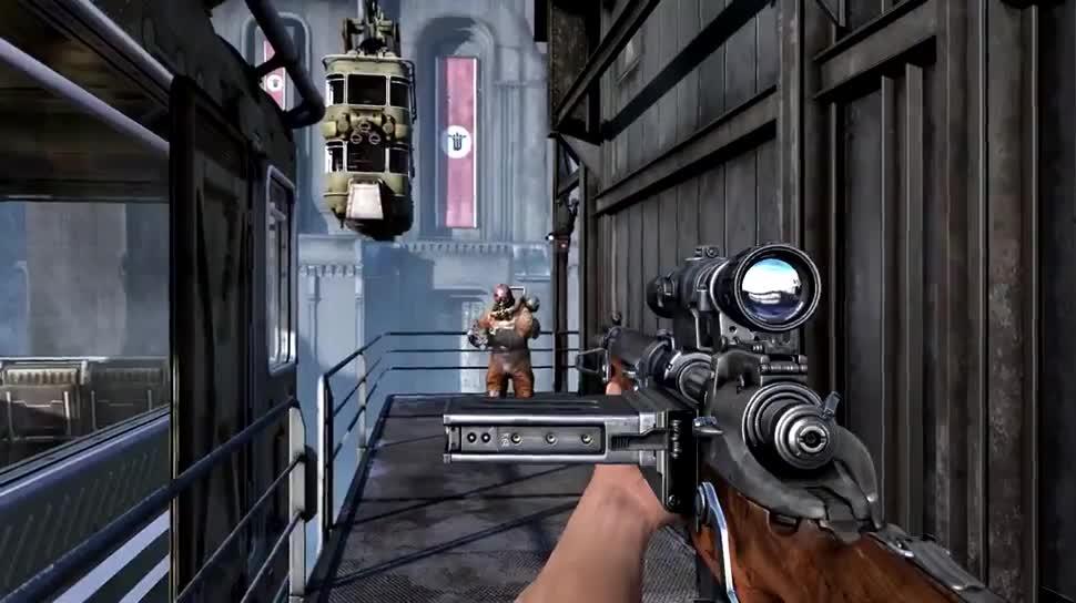 Trailer, Ego-Shooter, Bethesda, Wolfenstein, Wolfenstein: The Old Blood, The Old Blood