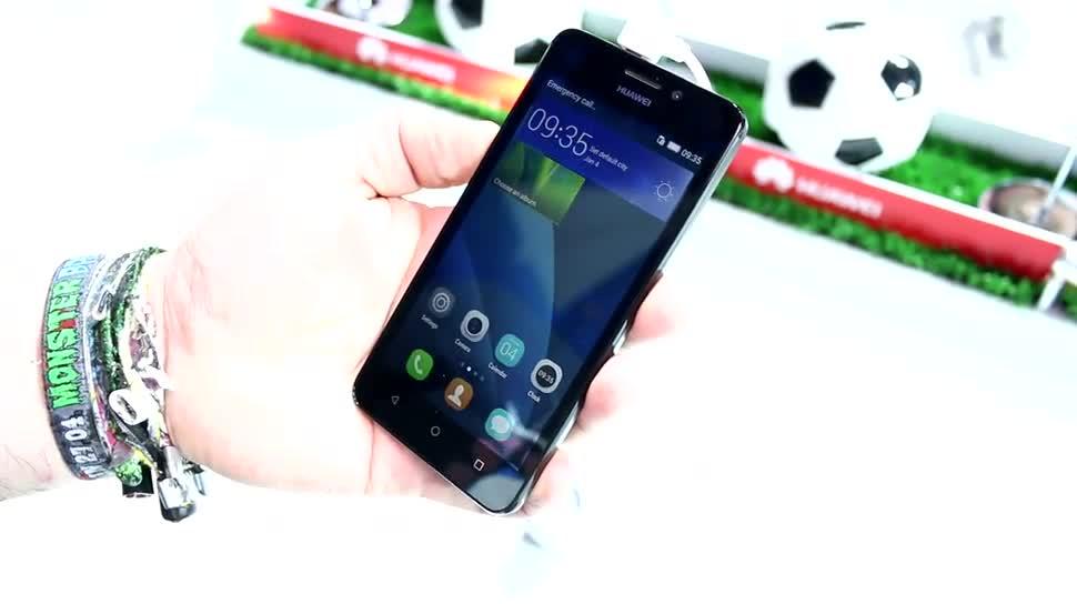 Smartphone, Android, Huawei, Lte, Hands-On, Mwc, MWC 2015, Einsteiger, Dual-SIM, Huawei Y635, Y635