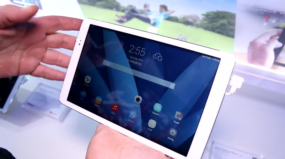 Tablet, Huawei, Hands-On, Mobile World Congress, MWC 2015, MediaPad T1 10