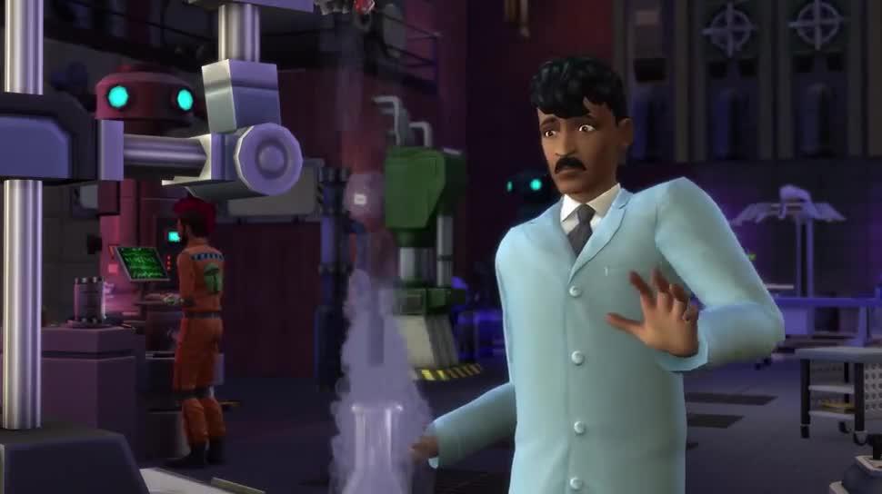 Trailer, Electronic Arts, Ea, Dlc, Simulation, Die Sims 4, Die Sims, An die Arbeit