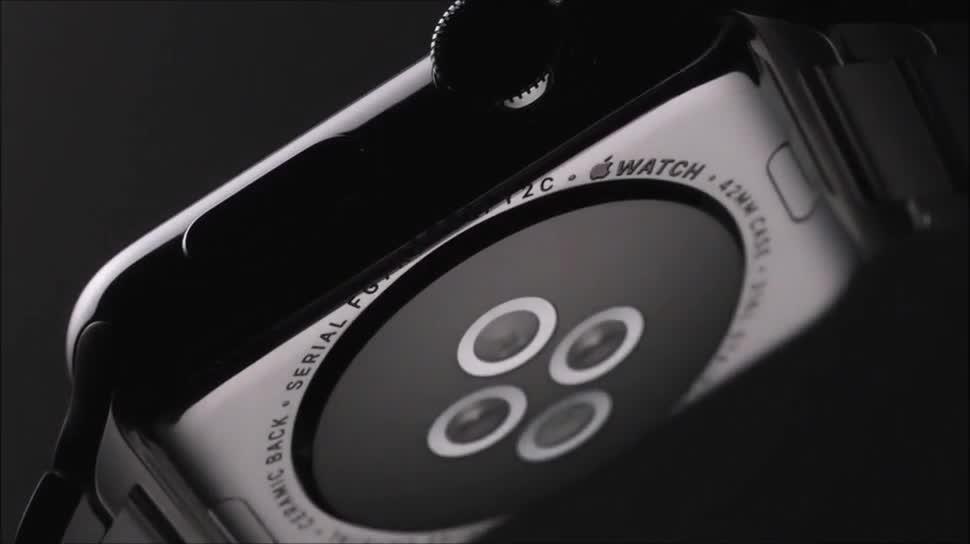 Apple, smartwatch, Uhr, Wearables, Apple Watch, Armbanduhr, Apple Watch Sport, Apple Watch Gold