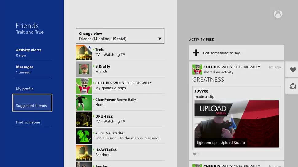 Microsoft, Update, Xbox, Xbox One, Microsoft Xbox One, Screenshots, Larry Hryb