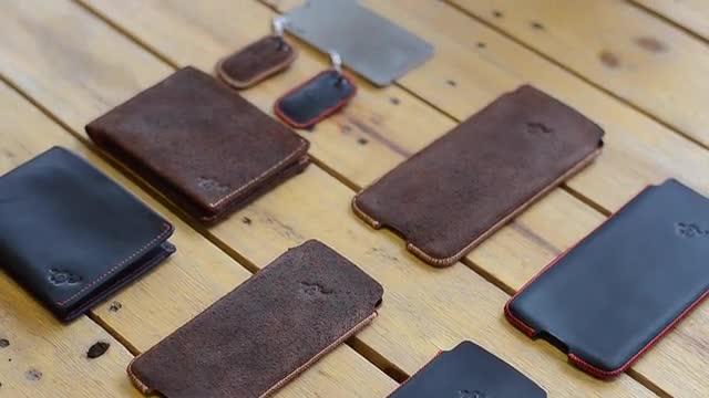 Smartphone, App, Kickstarter, Bluetooth, Geldbörse, Woolet, Portemonnaie