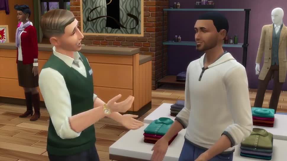 Trailer, Electronic Arts, Ea, Dlc, Simulation, Die Sims 4, Die Sims, Sims, An die Arbeit