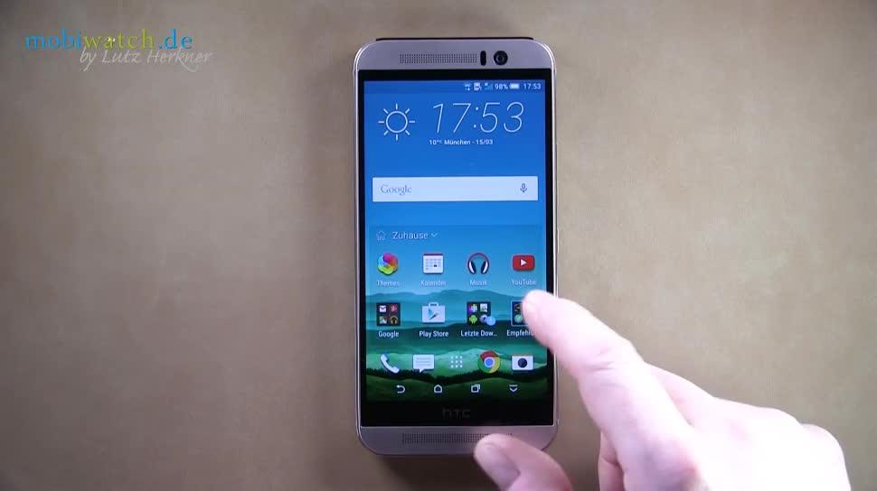 Android, Htc, Hands-On, Benutzeroberfläche, Lutz Herkner, HTC One, HTC One M9, One M9, Sense 7