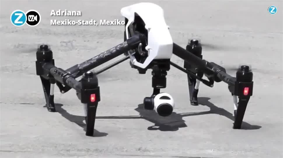 Fliegen, Mexiko, Drone, Dronen, Drones in the City