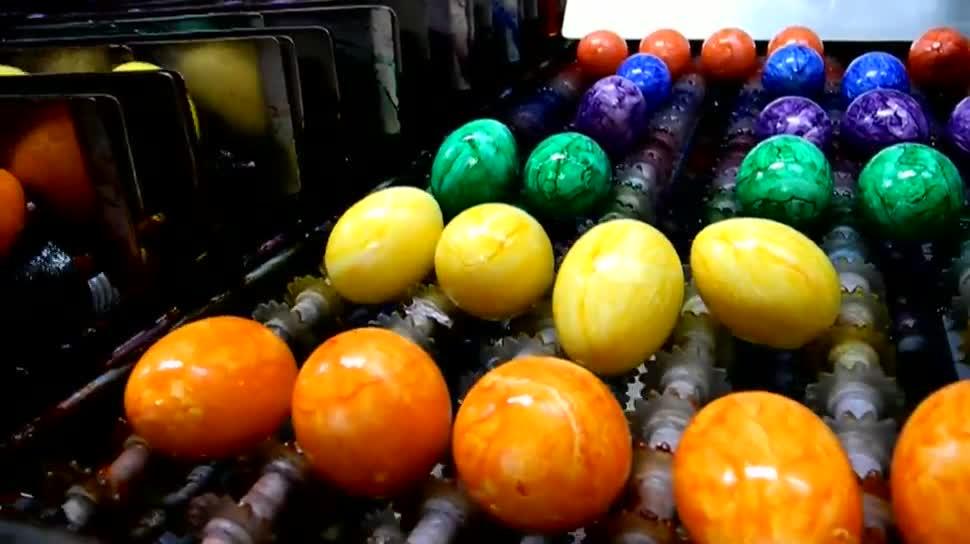 Farbe, Eier, Ei, Eierfärbereien, Oster