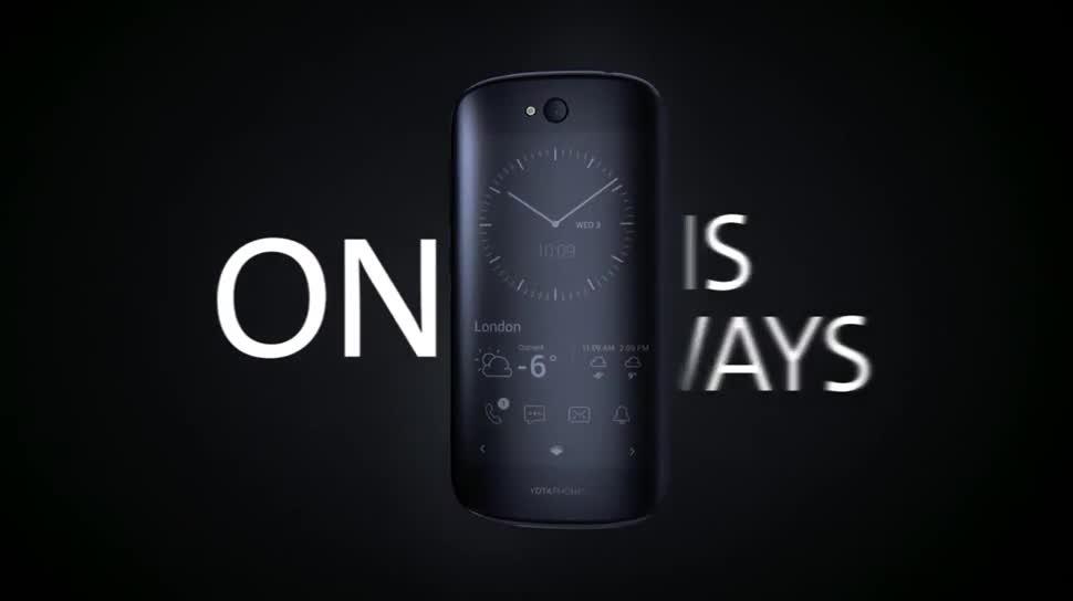Smartphone, Android, E-Ink, Amoled, YotaPhone, Yotaphone 2, E-Ink-Phone, Yota