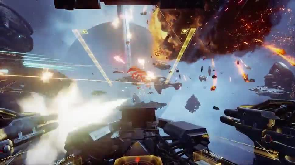 Trailer, Gameplay, CCP Games, Eve: Valkyrie, EVE, EVE-Fanfest, EVE-Fanfest 2015