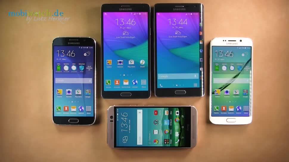 Smartphone, Android, Samsung, Samsung Galaxy, Lutz Herkner, Benchmark, Galaxy S6, Samsung Galaxy S6, TouchWiz, Samsung Galaxy S6 Edge, Samsung TouchWiz