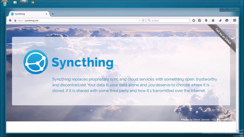 Cloud, Speicher, SemperVideo, Backup, Synchronisieren, Syncthing