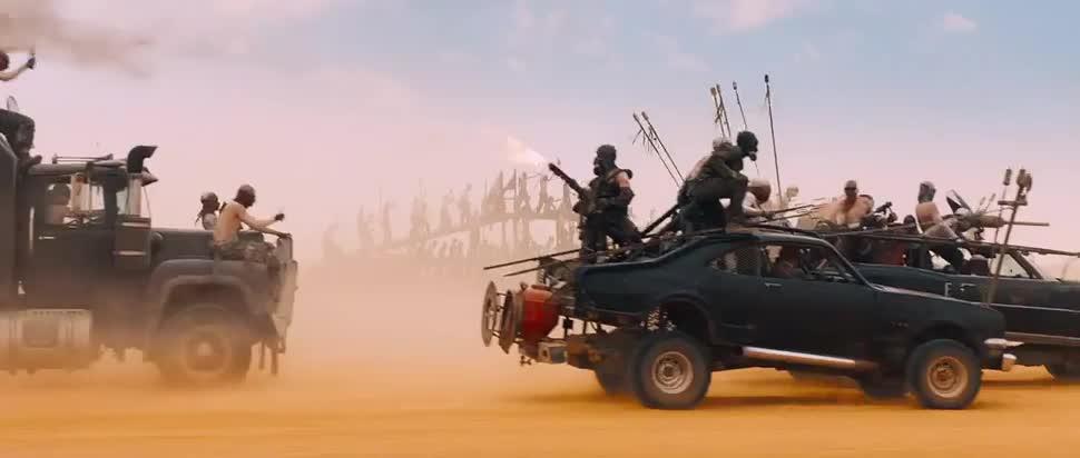 Trailer, Kinofilm, Warner Bros., Mad Max, Fury Road
