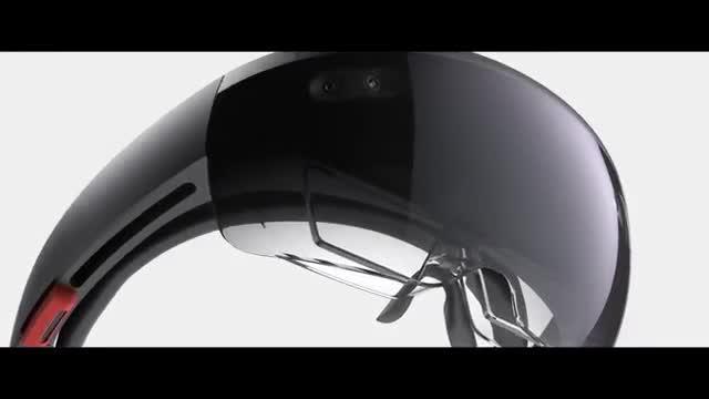 Microsoft, VR, Build, HoloLens, VR-Brille, Microsoft HoloLens, Windows Holographic, Build 2015, Windows 10 Holographic, Hologramm