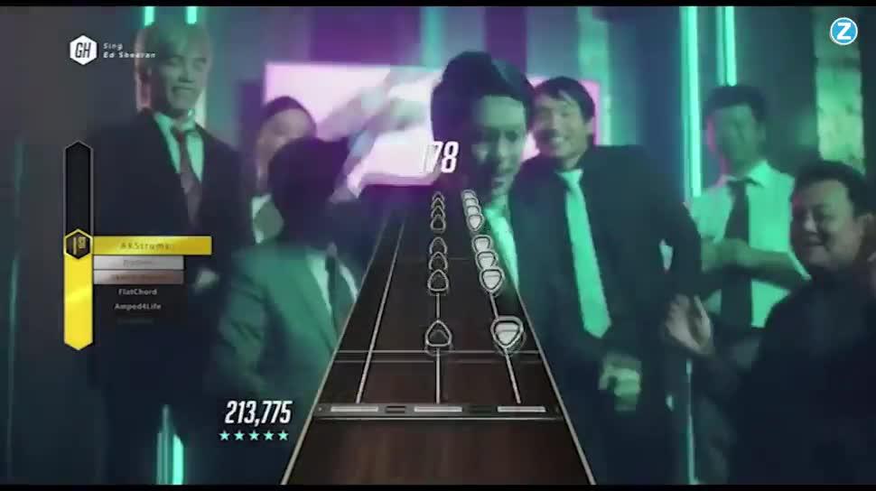 Zoomin, Activision, Guitar Hero, Gitarre, Guitar Hero Live, Musikspiele