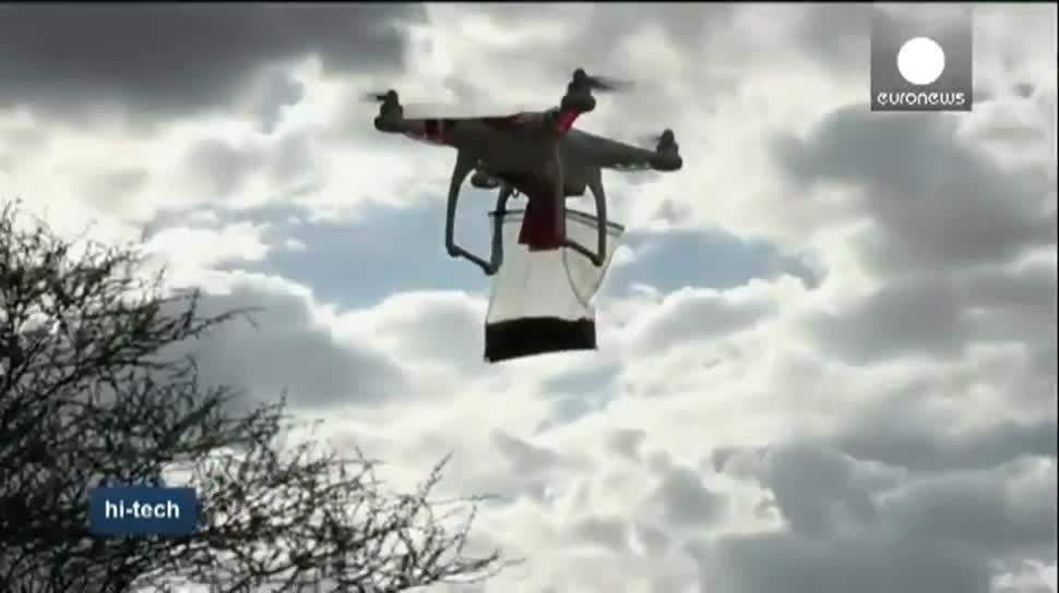 Drohne, Drohnen, Naturschutz, Elefanten