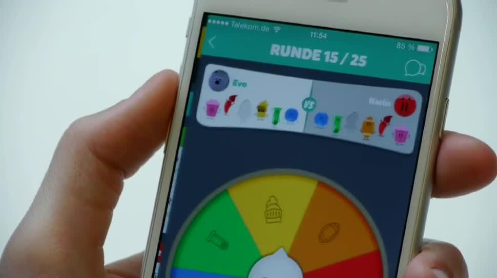 Android, App, iOS, Apps, Rätsel, Quiz, Clipduell, Trivia Crack, The Test, 4 Bilder 1 Wort, City Quiz