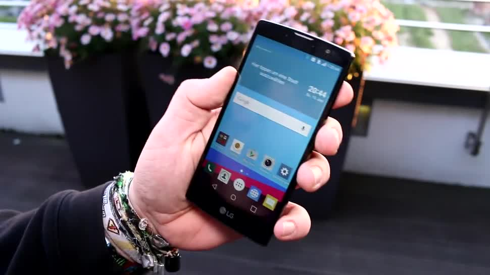 Smartphone, Android, LG, Lte, Hands-On, Quadcore, Hands on, Lollipop, LG G4, Qualcomm Snapdragon 410, Android 5.0 Lollipop, G4c, LG G4c, Android 5.0.2