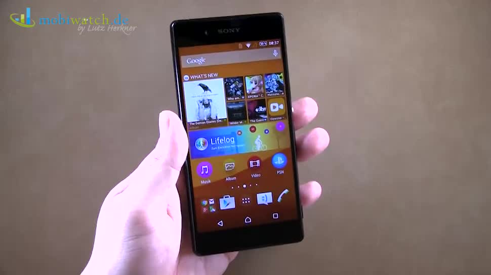 Smartphone, Android, Sony, Hands-On, Lutz Herkner, Xperia, Xperia Z3+