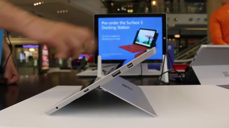 Microsoft, Surface, Surface 3, Microsoft Surface 3, Ständer, kickstand