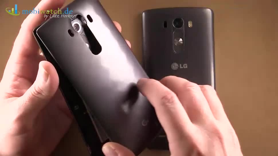 Smartphone, Android, LG, Hands-On, Lutz Herkner, G4